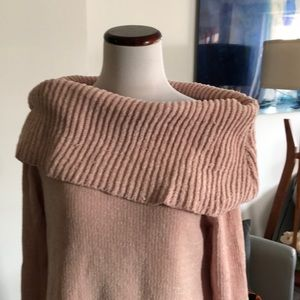 BY DESIGN BLUSH CHENILLE SOFT SWEATER
